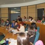 Conferencia Medidas para la igualdad de mujeres y hombres  en Francia: participación política e Instituciones del Estado
