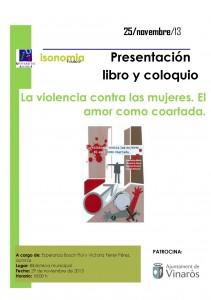 IMG_Cartel coloquio 25 noviembre_Vinaròs