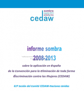 Presentación Informe CEDAW