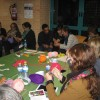 Taller Knitting while debating about gender violence (IV)