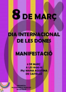 IMG-CARTEL MANIFESTACION VALENCIANO