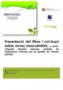 Cartel Hombres nuevas masculinidades