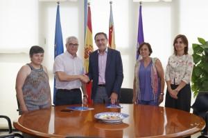 Firma conveni Isonomia-Ajuntament de Borriol