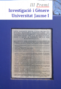 IMG-III premio investigacio i genere