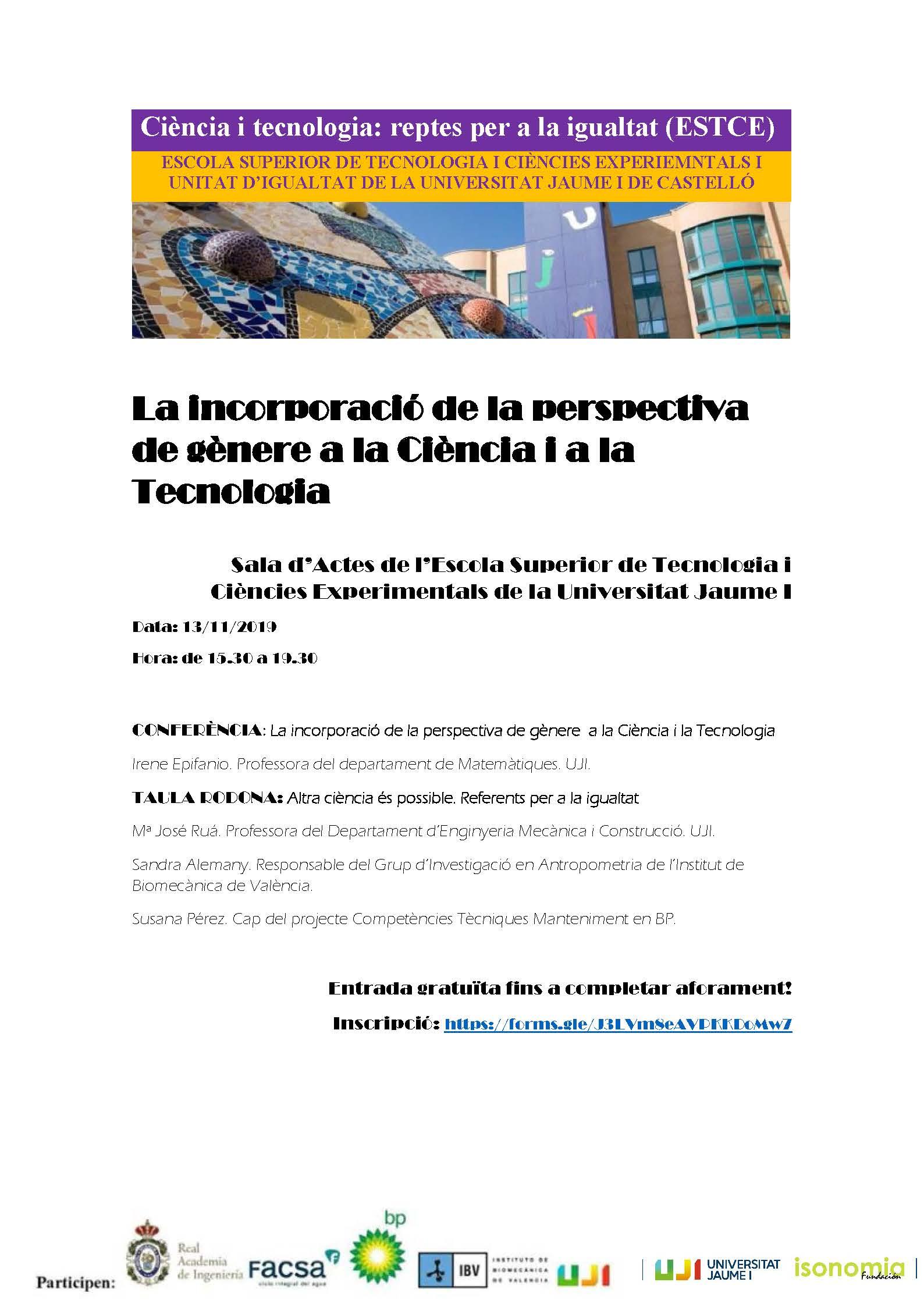 Jornada ESTCE 13.11.19