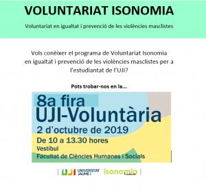 Fira voluntariat UJI - 2019